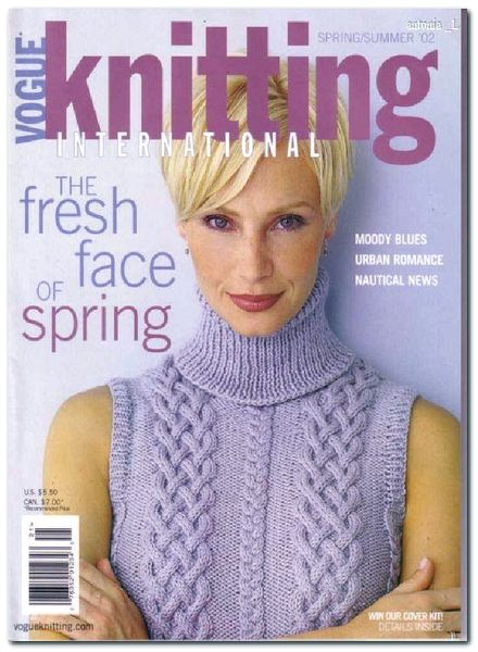 Knitting Vogue 2014 : Download vogue knitting spring summer pdf magazine