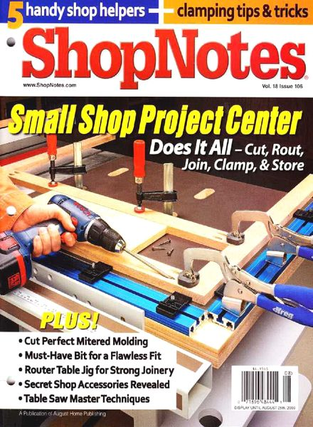 Download ShopNotes Issue 106 - PDF Magazine