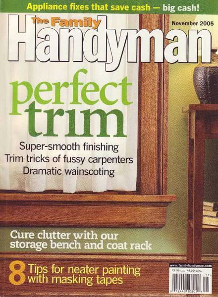 Download the family handyman 463 2005 11 pdf magazine for The family handyman pdf
