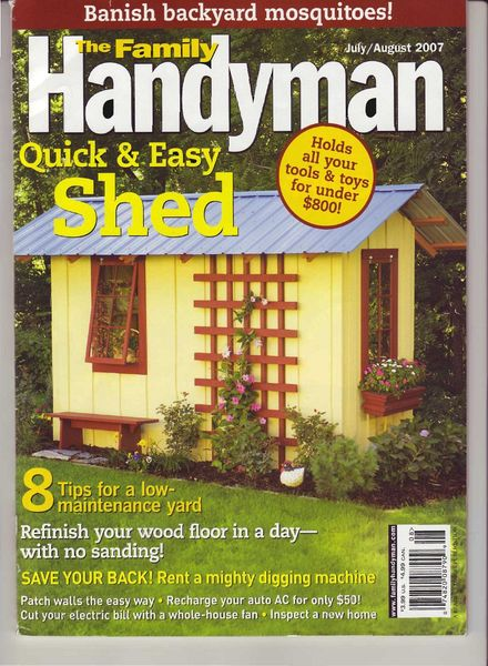 Download The Family Handyman 480 2007 07 Pdf Magazine