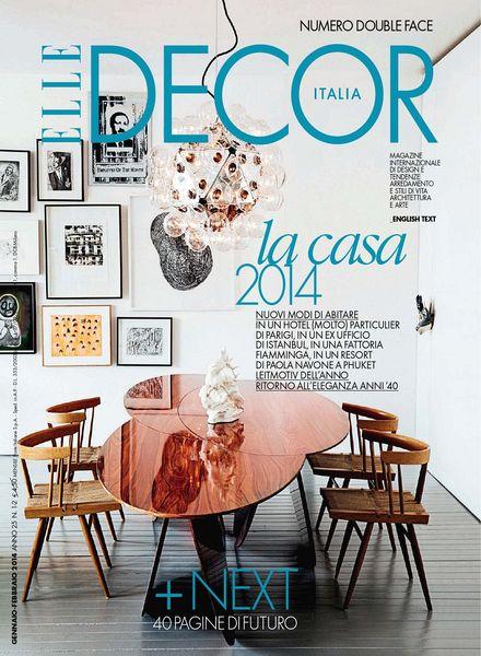 Elle Decor Italia – gennaio - febbraio 2014