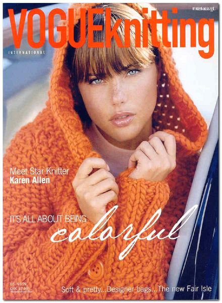 Knitting Vogue 2014 : Download vogue knitting winter pdf magazine