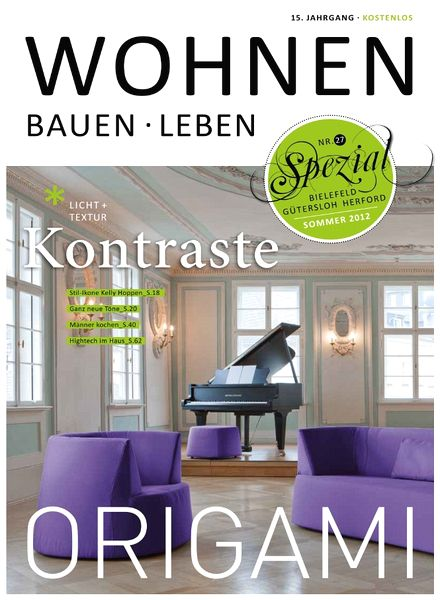 download wohnen bauen leben sommer 2012 pdf magazine. Black Bedroom Furniture Sets. Home Design Ideas