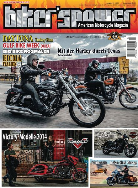 Bikerspower Magazin N 01, 2014