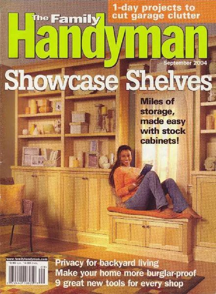 Download the family handyman 451 2004 09 pdf magazine for The family handyman pdf