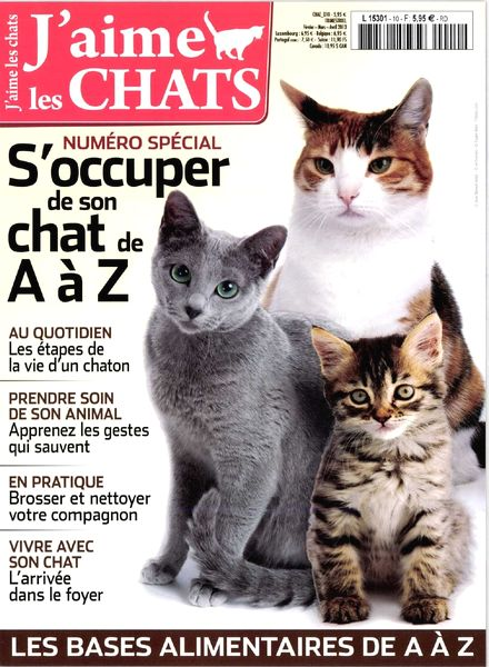 Download J'Aime les Chats 10 – Fevrier-Avril 2013 - PDF
