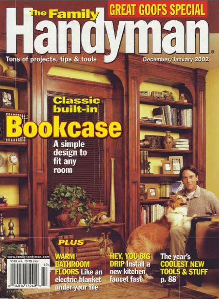 Download the family handyman 423 2001 12 pdf magazine for The family handyman pdf