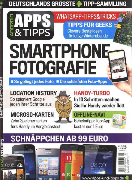Android Apps & Trick Magazin N 01, 2014