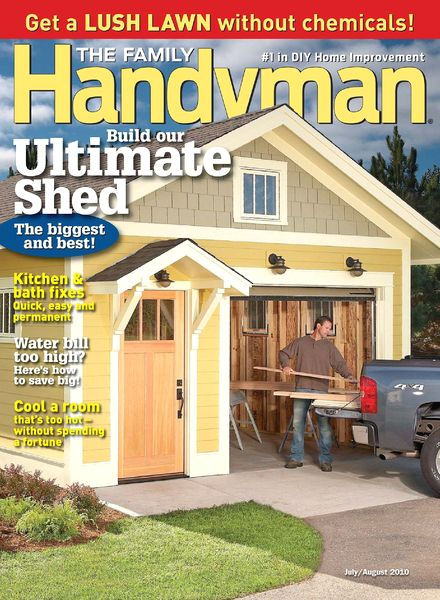 Download the family handyman july august 2010 pdf magazine for The family handyman pdf