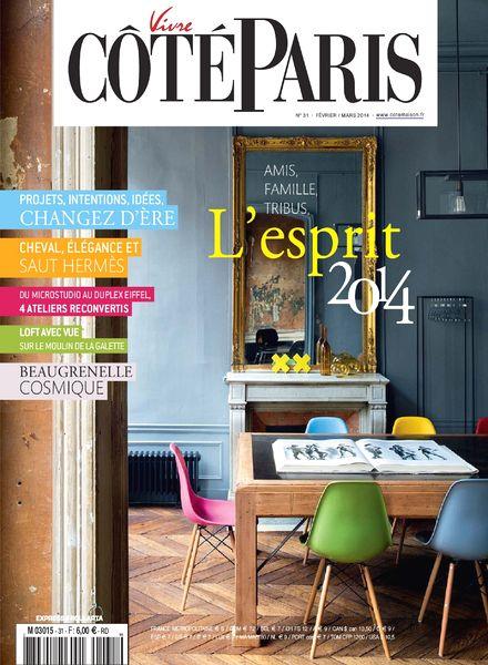 download vivre cote paris n 31 fevrier mars 2014 pdf. Black Bedroom Furniture Sets. Home Design Ideas