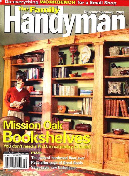 Download The Family Handyman 434 2002 12 Pdf Magazine