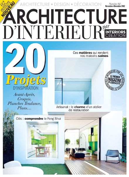 download architecture d interieur magazine n 02 pdf magazine. Black Bedroom Furniture Sets. Home Design Ideas