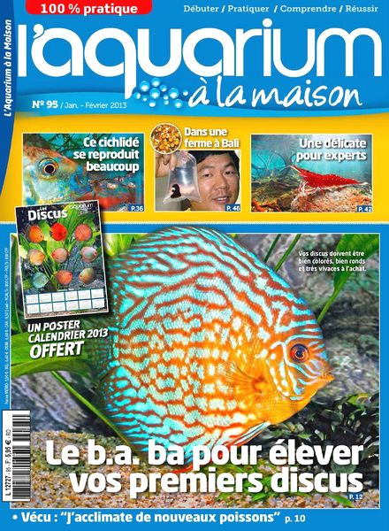 Download l aquarium a la maison n 95 janv fevrier 2013 for Aquarium a la maison pdf