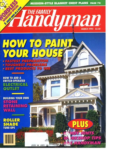 Download the family handyman 356 1995 03 pdf magazine for The family handyman pdf
