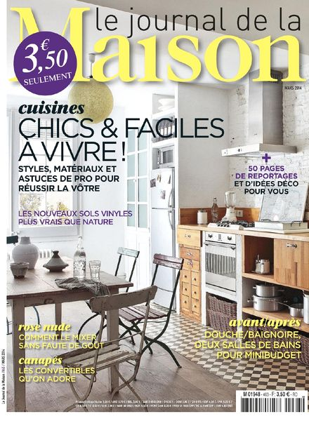 download le journal de la maison n 463 mars 2014 pdf magazine. Black Bedroom Furniture Sets. Home Design Ideas