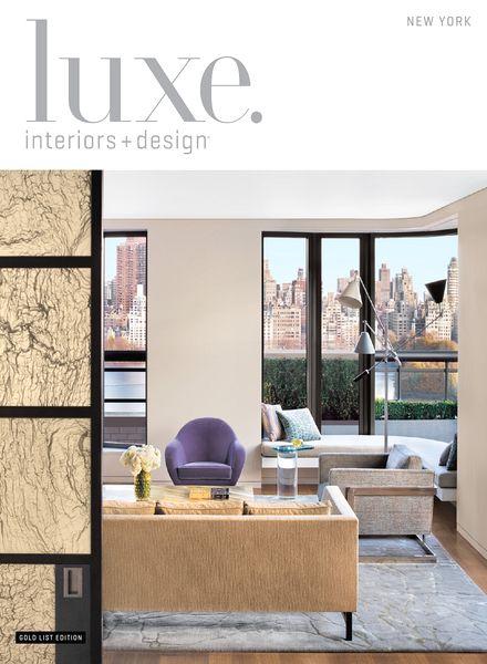 Download Luxe Interior Design Magazine New York Edition Winter 2014 Pdf Magazine