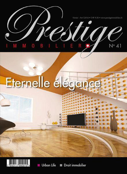 Download prestige immobilier fevrier avril 2014 pdf for Avril immobilier
