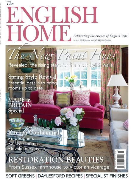 Download the english home magazine march 2014 pdf magazine for English house magazine