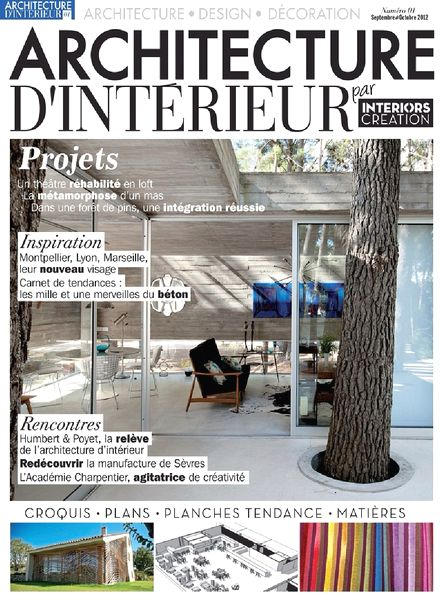 download architecture d interieur magazine n 01 pdf magazine. Black Bedroom Furniture Sets. Home Design Ideas
