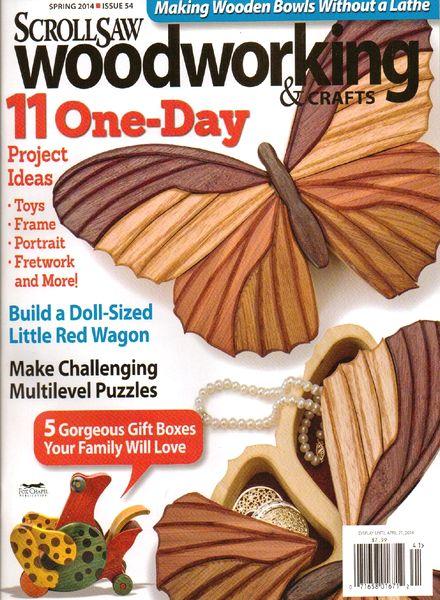Download Scrollsaw Woodworking & Crafts – Spring 2014 - PDF Magazine