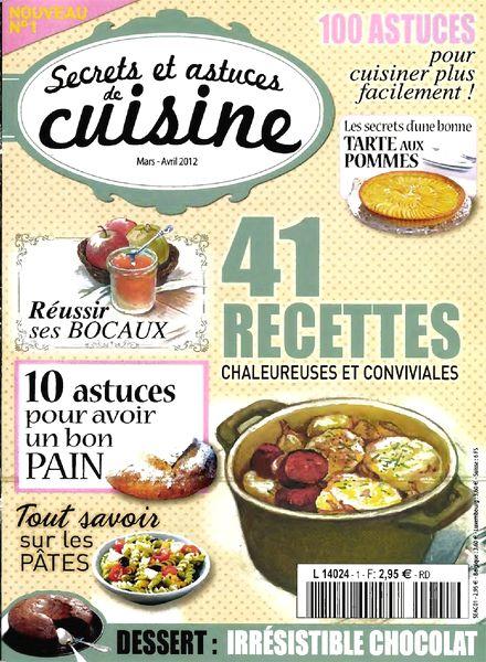 Download secrets et astuces de cuisine n 1 mars avril for Astuces de cuisine