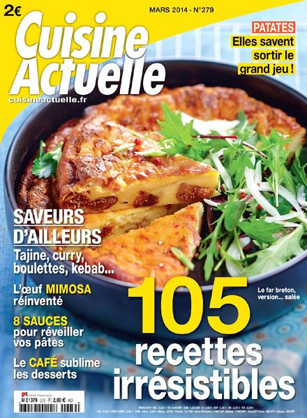 Download cuisine actuelle n 279 mars 2014 pdf magazine for Cuisine actuelle
