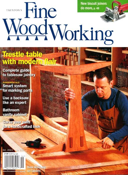 Fine Woodworking – October 2013 (235)