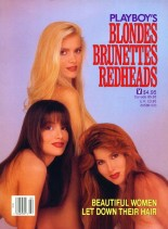 Playboy's Blondes, Brunettes, and Redheads - 1990