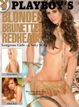 Playboy's Blondes, Brunettes and Redheads 2011