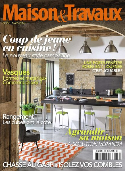 download maison travaux n 255 mars 2014 pdf magazine. Black Bedroom Furniture Sets. Home Design Ideas