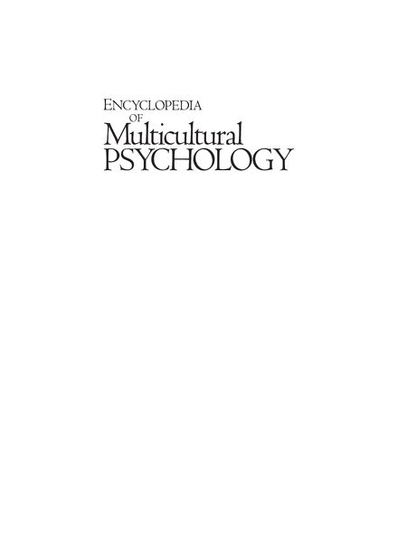 multicultural ethical psychology Multicultural competence: criteria and case examples nancy downing hansen, fran pepitone-arreola-rockwell, and anthony f greene the fielding institute  ethics, multicultural psychology, the minnesota multiphasic personality inventory, and qualitative research.
