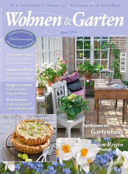 download wohnen & garten – april n 04, 2013 - pdf magazine, Garten und Bauen