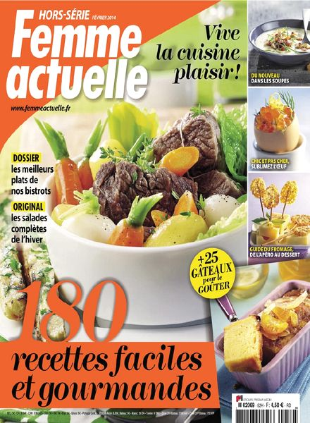 download femme actuelle hors serie cuisine n 52 pdf magazine. Black Bedroom Furniture Sets. Home Design Ideas