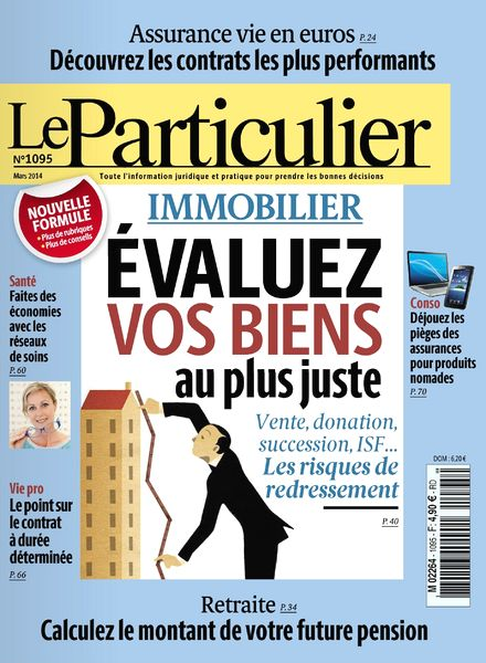 download le particulier n 1095 mars 2014 pdf magazine. Black Bedroom Furniture Sets. Home Design Ideas