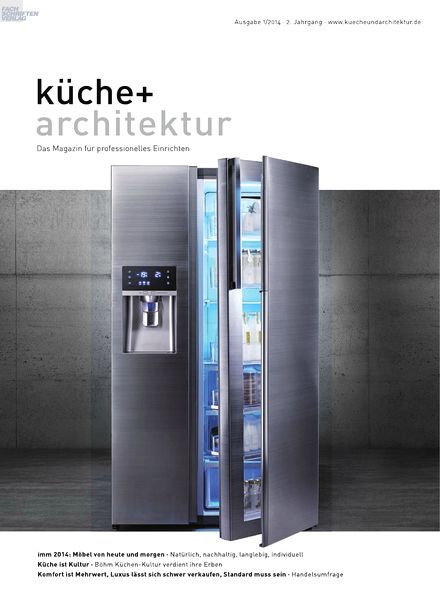 download kueche architektur magazin n 01 2014 pdf. Black Bedroom Furniture Sets. Home Design Ideas
