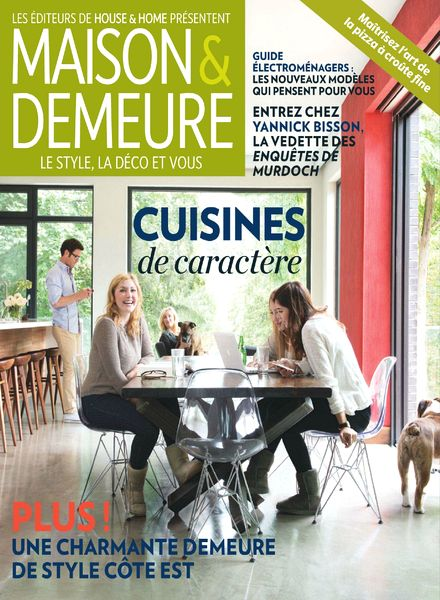 Download maison demeure vol 6 n 2 mars 2014 pdf magazine - Maison demeure magazine ...