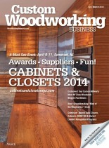 Custom Woodworking Business - March 2014