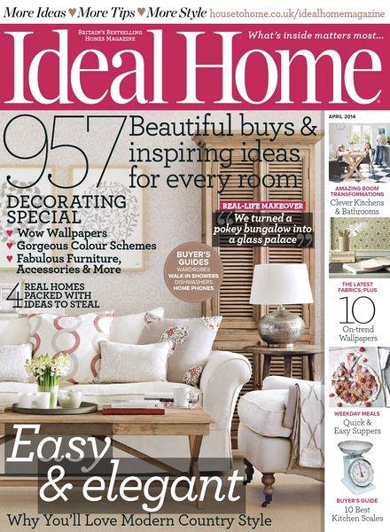 Download Ideal Home Magazine April 2014 Pdf Magazine