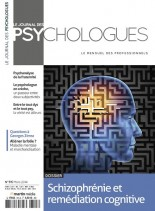 Le Journal des Psychologues N 315 - Mars 2014