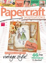 PaperCraft Inspirations - April 2014