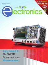 What's New in Electronics - March-April 2014
