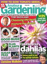 Amateur Gardening - 8 March 2014