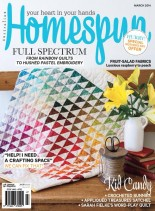 Australian Homespun - March 2014