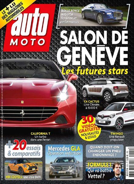 download auto moto n 220 avril 2014 pdf magazine. Black Bedroom Furniture Sets. Home Design Ideas