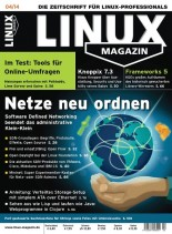 Linux Magazin April N 04, 2014