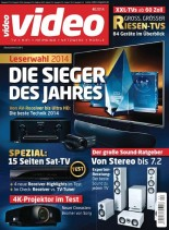 Video (TV Hifi Heimkino) Magazin April N 04, 2014