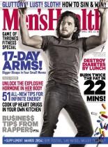 Men's Health UK - April 2014