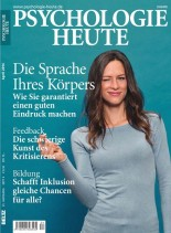 Psychologie Heute Magazin - April N 04, 2014