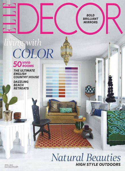 Download elle decor april 2014 pdf magazine for Country living customer service number