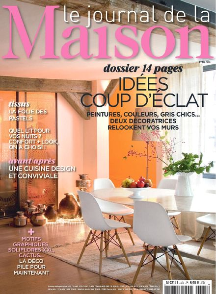 download le journal de la maison n 464 avril 2014 pdf magazine. Black Bedroom Furniture Sets. Home Design Ideas